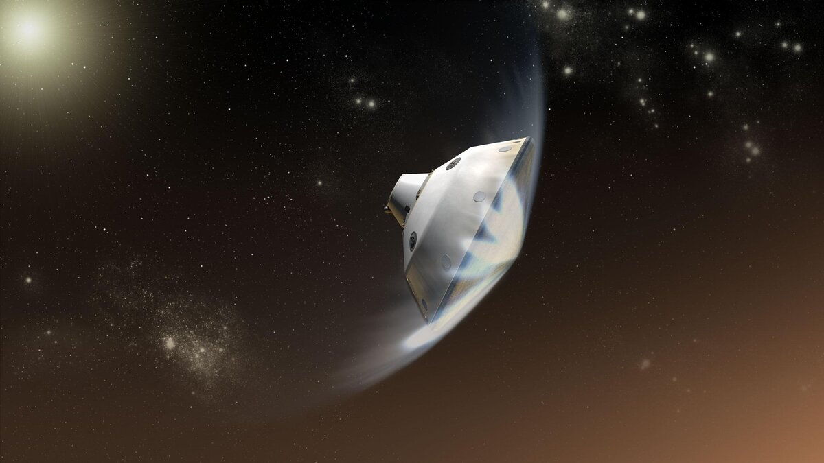 NASA setback: heat shield on Mars probe cracks