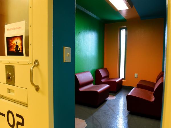 The P.A.C.T unit's meditation room.