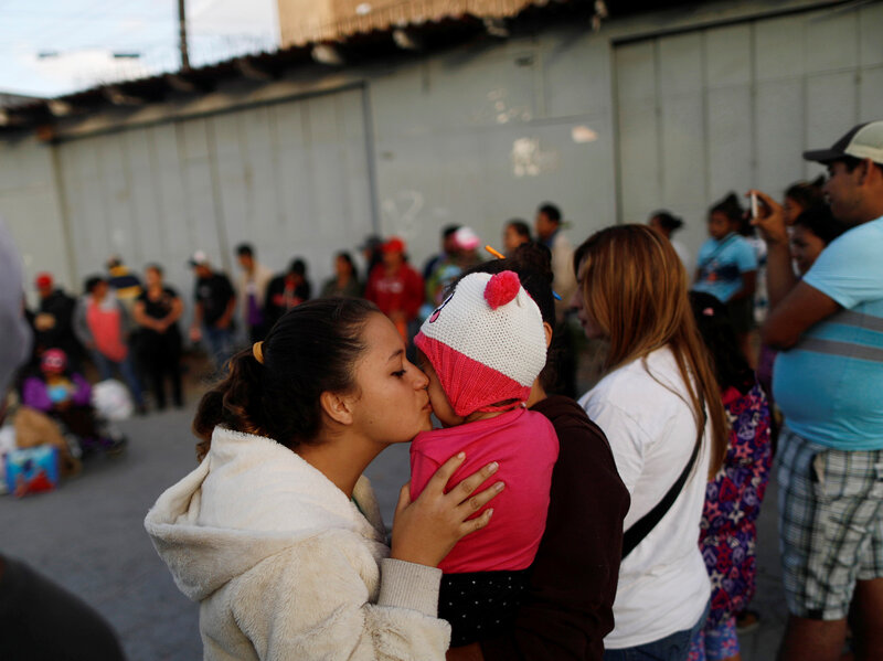 Central American Migrants Arrive At U S Border To An Uncertain Future