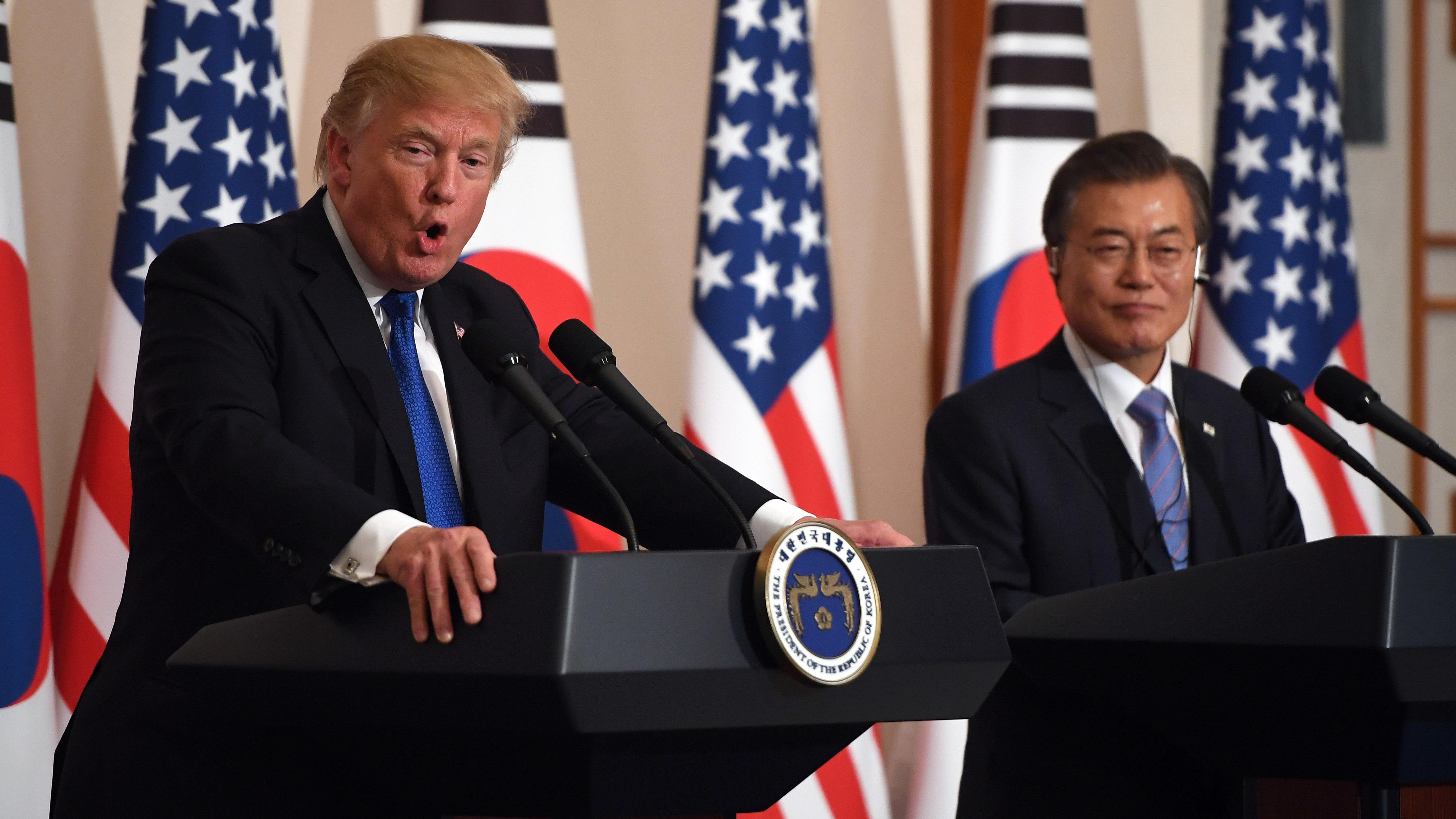 South Korean President Praises Trump: Give that Guy a Nobel