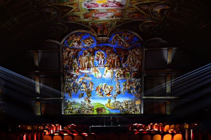 The Sistine Chapel Gets Its Own High-Tech Spectacle, With Music By