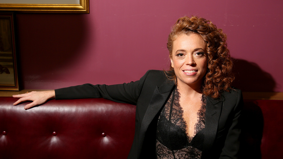 """Michelle Wolf says the title of her HBO special, <em>Nice Lady</em>, was inspired by real life: """"For the longest time ... I thought that's how I was supposed to be. I thought I was just supposed to be nice and pleasant — and then I realized that's no fun."""" (Tasos Katopodis/Getty Images for Netflix)"""