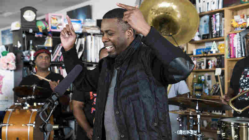 GZA & The Soul Rebels: Tiny Desk Concert
