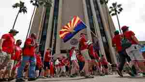 Arizona Teachers Vow To Maintain Walkout 'Until A Budget Is Passed'
