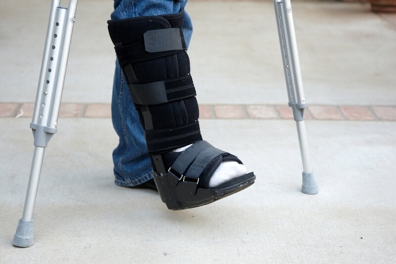 Image result for ankle crutches