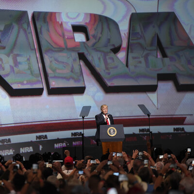 NRA Rallies Members In Dallas, Facing New Pressure And Anger