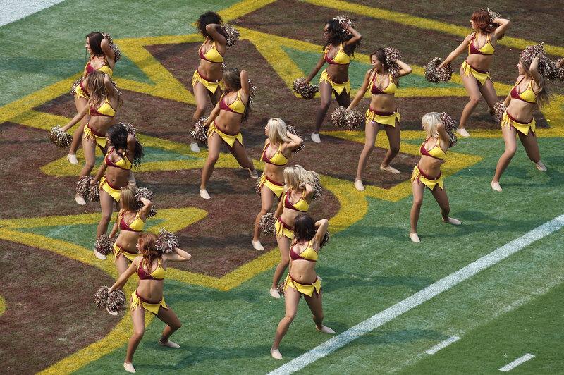 Dancing naked cheerleaders