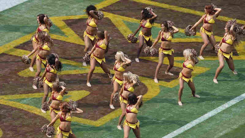 Washington's NFL Cheerleaders Say They Had To Pose Topless As VIPs Watched