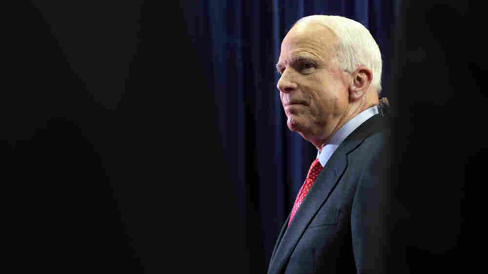 Sen. John McCain Reads From His Forthcoming Memoir, 'The Restless Wave'
