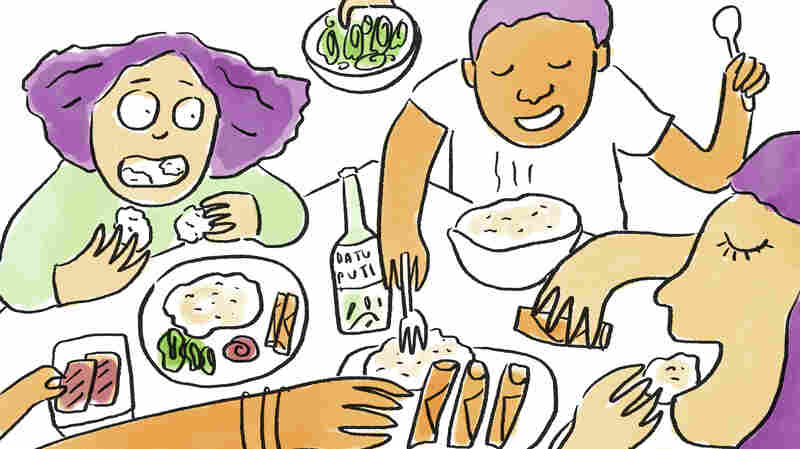 A Workplace Potluck Filled With Filipino Food And Memories