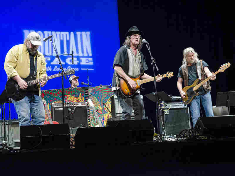 James McMurtry performs on Mountain Stage