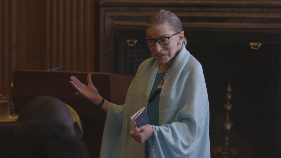"""Yeah You Know Me"": Supreme Court Justice Ruth Bader Ginsburg is the subject of <em>RBG</em>, a documentary about her life and work. (Magnolia Pictures )"