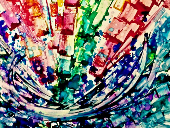 How A Synesthetic Artist Sees Sounds And Turns Music Into