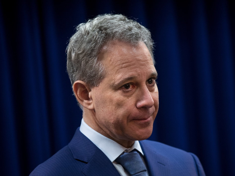 New York Attorney General Eric Schneiderman says he will resign on Tuesday, following accusations that he physically assaulted multiple women. Schneiderman contests the allegations. (Drew Angerer/Getty Images)