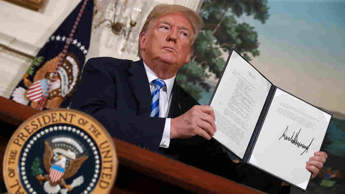 Trump Kills US Involvement in Iran Deal