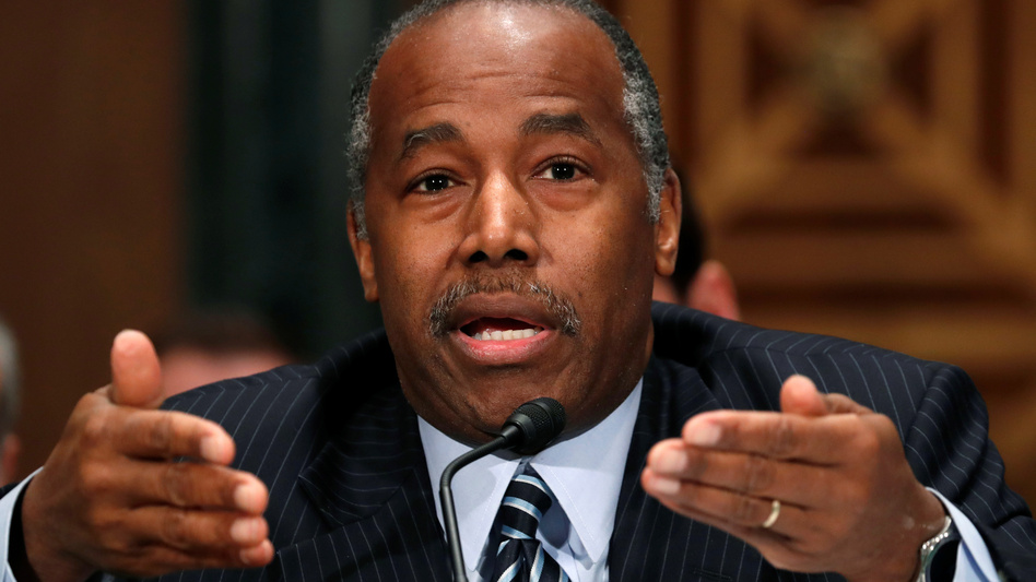 Housing and Urban Development Secretary Ben Carson faces a lawsuit over his agency's sidelining of a rule that is meant to prevent segregation in areas that receive federal housing funds. (Kevin Lamarque/Reuters)
