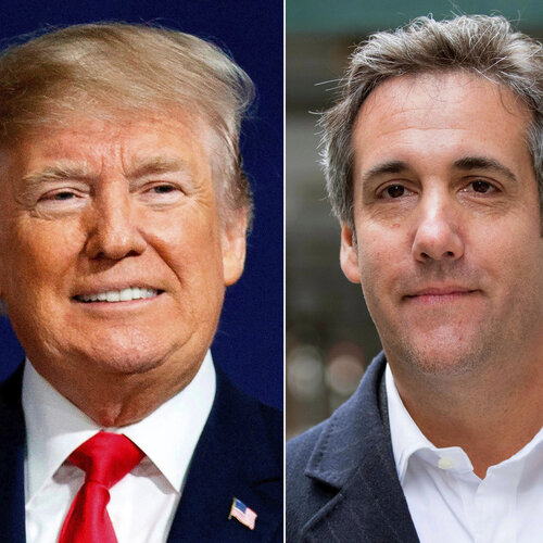 Trump paid Cohen for Stormy