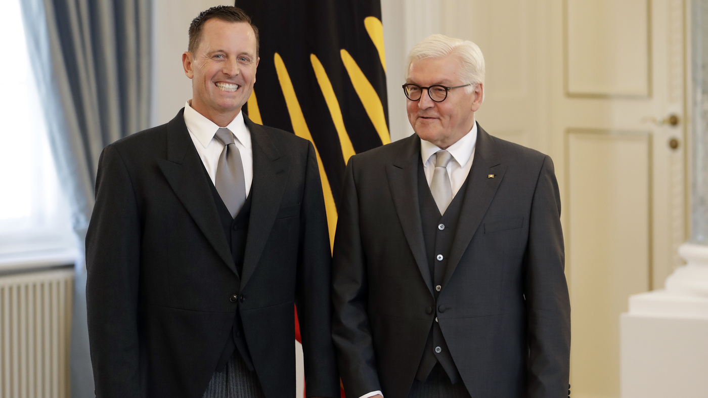 New Us Ambassador To Germany Grenell Irks His Hosts The Day He