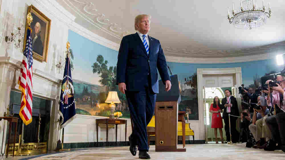 Trump's Personal Approach To Policy On Display Ahead Of N. Korea Summit