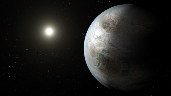 The planet, known as Kepler-452b, was believed to be about 60 percent larger than our planet and within the habitable zone of its star.