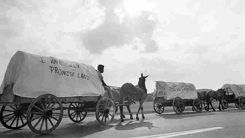 How A Mule Train From Marks, Miss., Kicked Off MLK's Poor People Campaign