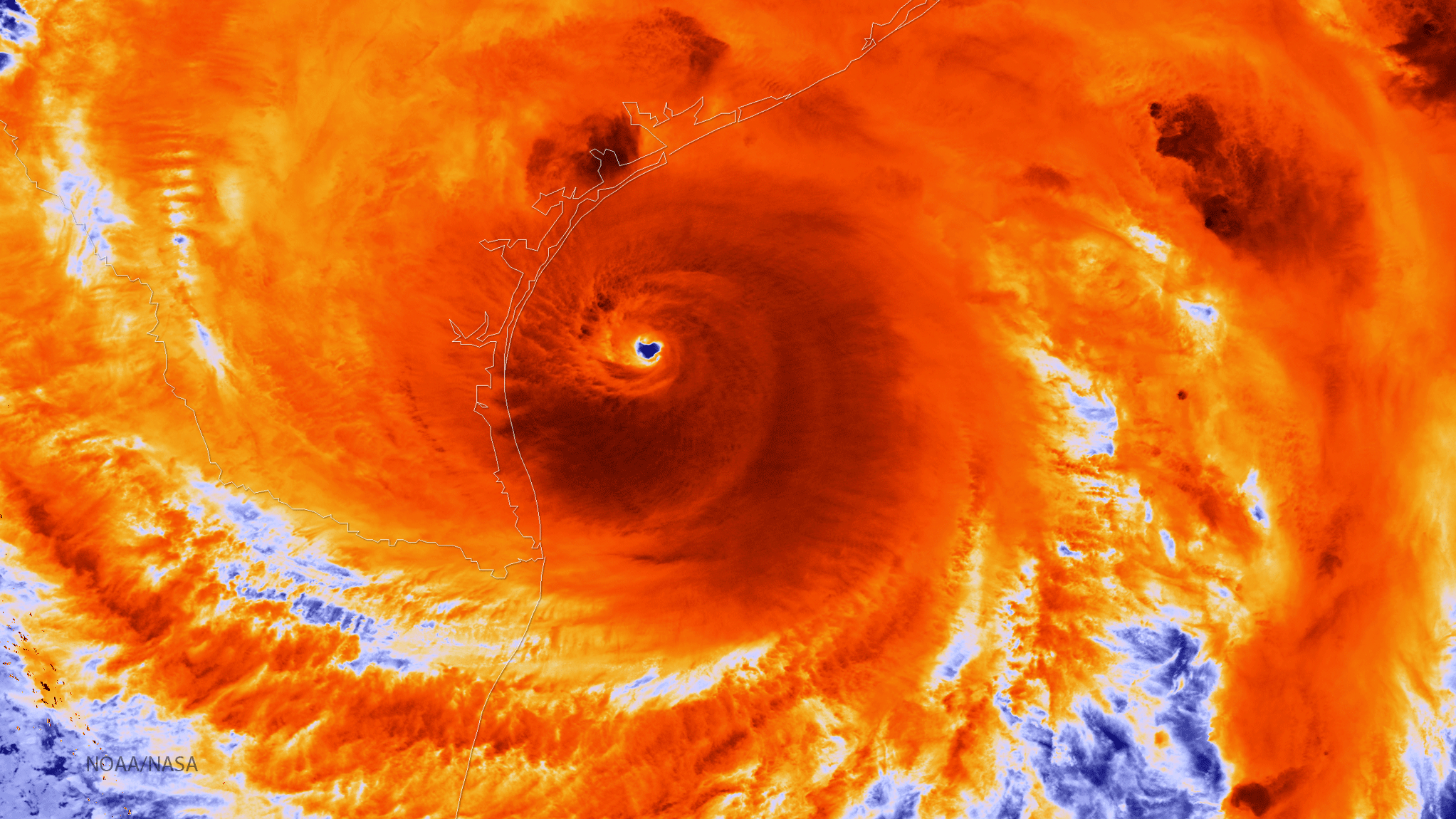 Record Heat In The Gulf Fueled Hurricane Harvey's Deluge