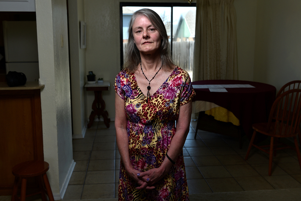 """Eleven days after surgery on her shoulder and foot, Sherry Young of Lawton, Okla., got a letter from her insurance plan saying that it hadn't approved her hospital stay. The letter """"put me in a panic,"""" says Young. The $115,000-plus bill for the hospital stay was about how much Young's home is worth, and five times her annual income."""