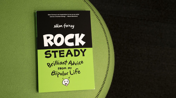 In  Rock Steady,  Ellen Forney Combines Mental Health Advice, Artistry and Wit