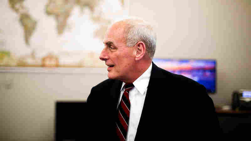 NPR New Interviews White House Chief of Staff John Kelly