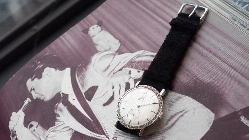 Elvis Presley's Diamond-Encrusted Omega Watch To Be Auctioned Off