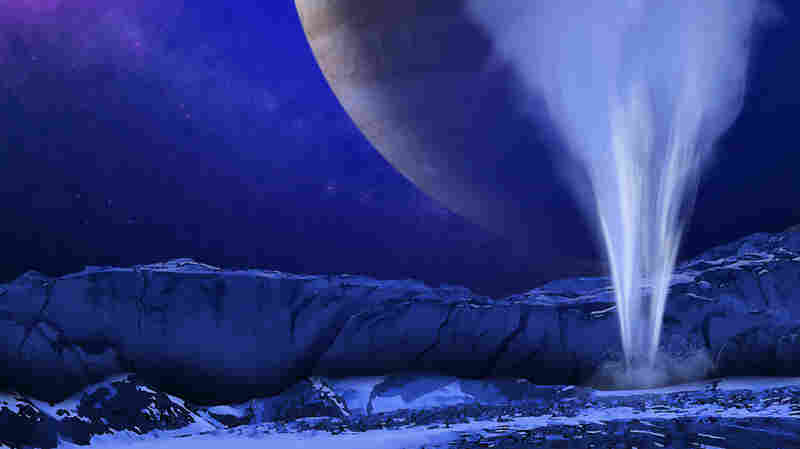 Icy Moon Of Jupiter Spews Water Plumes Into Space