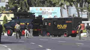 At Least 10 Wounded In Suicide Attack On Police HQ In Indonesia