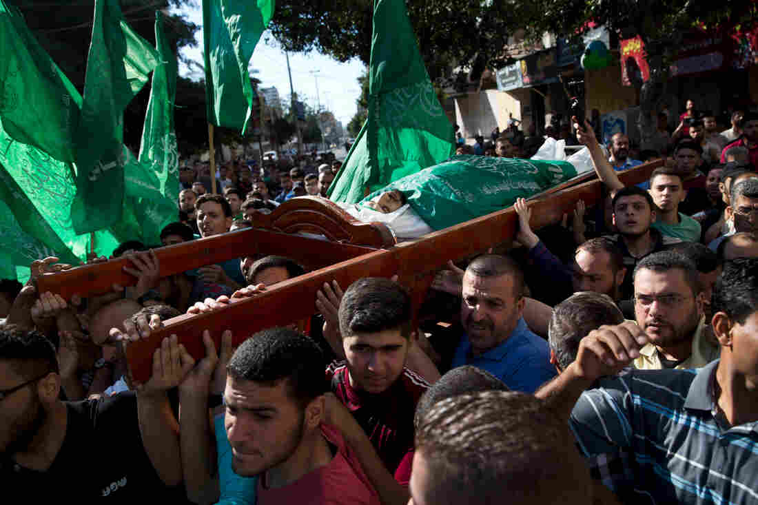 US blames Hamas for Gaza violence