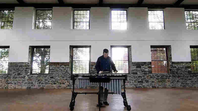 A Vibraphone Workout With A Tinfoil Twist