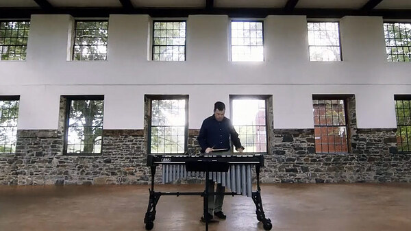 "Doug Perkins performs ""Filigree,"" part of a longer work by composer Robert Honstein."