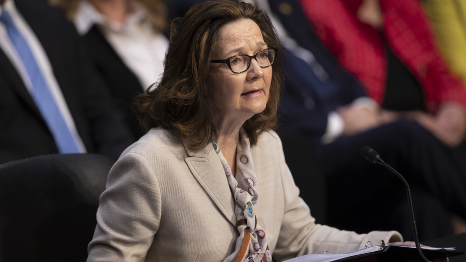 Gina Haspel, the nominee to be CIA director, testifies at a Senate intelligence committee hearing on May 9. Haspel now appears to have enough Senate support to win confirmation. (J. Scott Applewhite/AP)