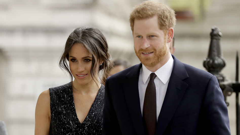 Britain's Prince Harry and his fiancee Meghan Markle will be married this Saturday, and you can easily catch it on TV. (Matt Dunham/AP)
