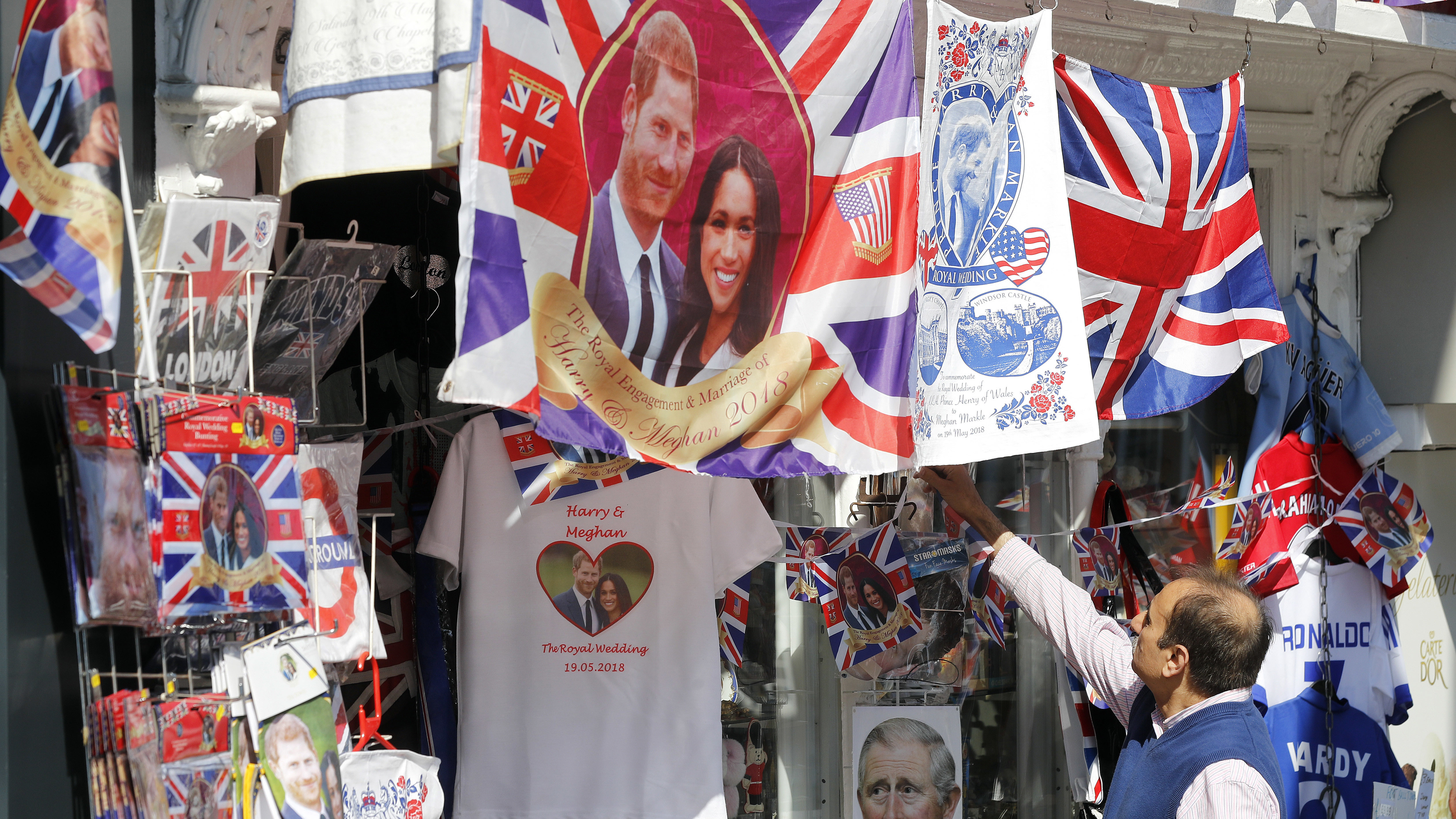 Wedding royal memorabilia mayhem
