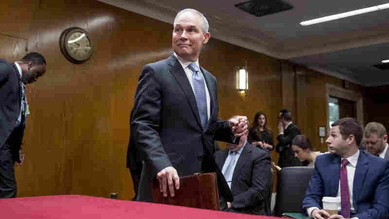 EPA's Scott Pruitt, Subject Of Many Ethics Probes, Plays Defense Before Senate