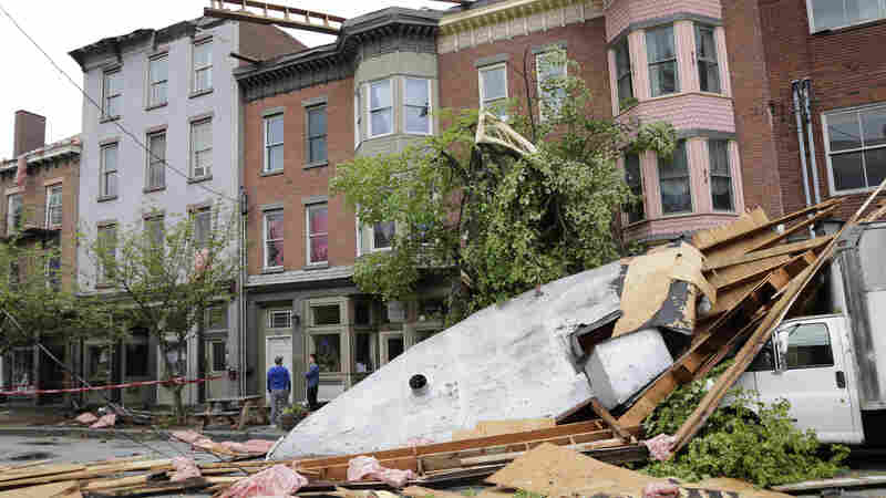 Deadly Storms Wreak Havoc In Northeast