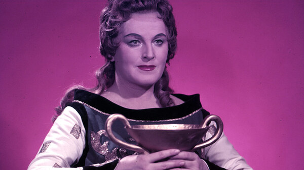 Birgit Nilsson (ca. 1960) as Isolde, in Wagner