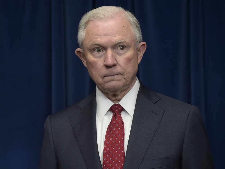 Attorney General Jeff Sessions in March 2017. (Susan Walsh/AP)