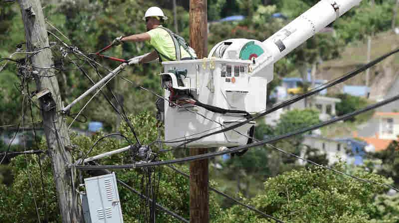 FEMA Denies Contract Extension In Puerto Rico, Power Crews Head Home