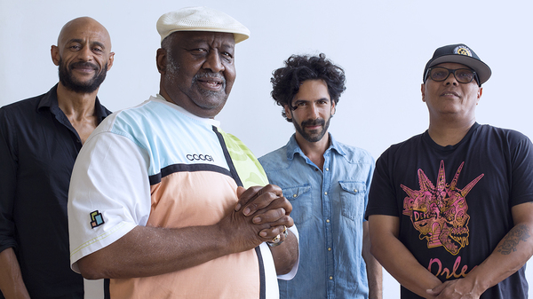 Bernard Purdie and his band. Cool Down, the latest album by Bernard Purdie & Friends, is out now.