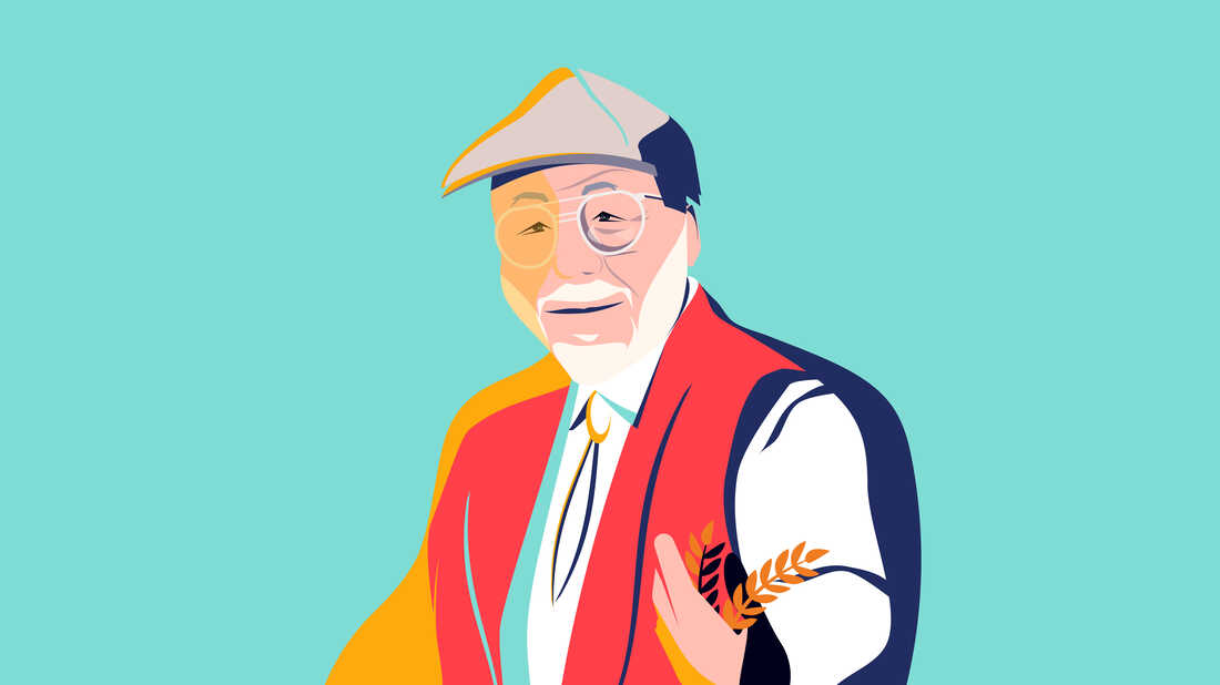 Founder Bob Moore is known for his derby cap and fluffy white beard — as seen on the label of every Bob's Red Mill package.