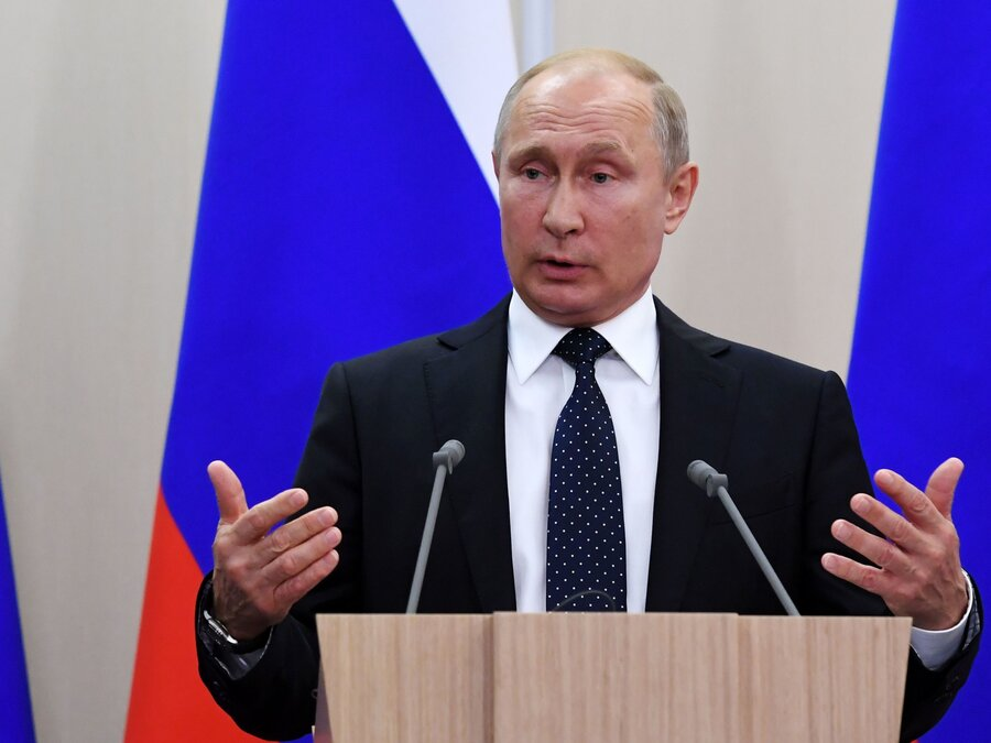 Lawmakers Propose To Extend Putins Term Limits As President The