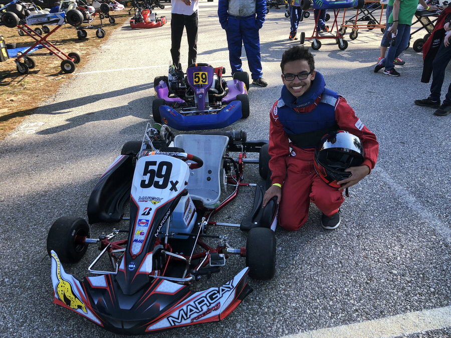 This East Coast Go-Kart Racing Champion Is A 15-Year-Old Phenom : NPR
