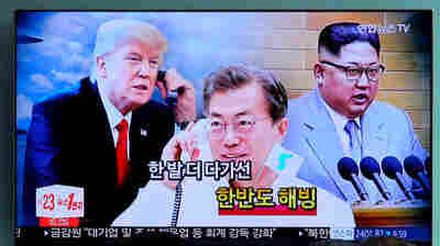As Trump-Kim Summit Approaches, South Korea's Leader Heads To White House