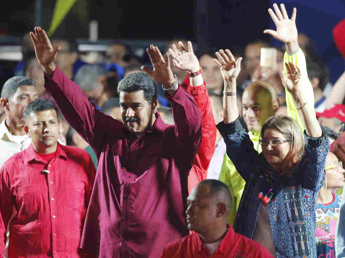 Venezuela's Maduro Wins Boycotted Elections Amid Charges Of Fraud