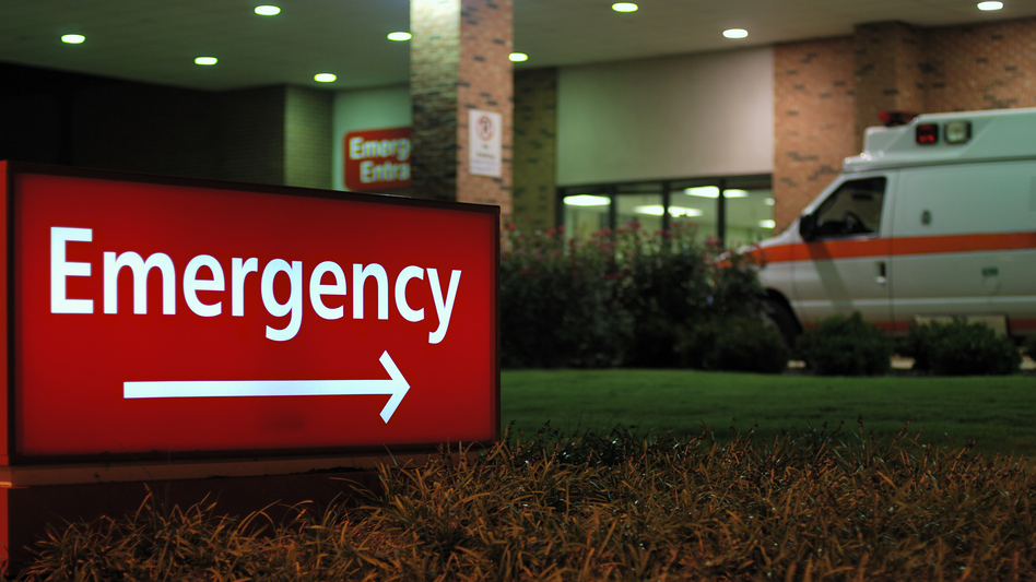 Some personal injury law firms now automatically target online ads at anyone who enters a nearby hospital's emergency room and has a cellphone. The ads may show up on multiple devices for more than a month. (sshepard/Getty Images)